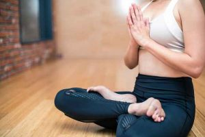 yoga poses for stress management